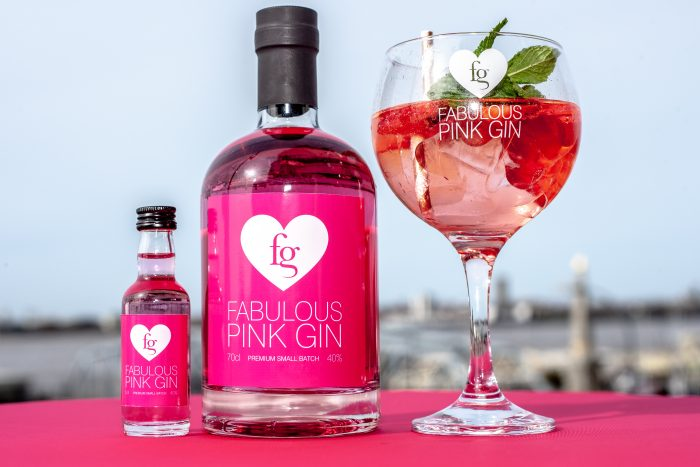 best pink gin - Fabulous Pink Gin