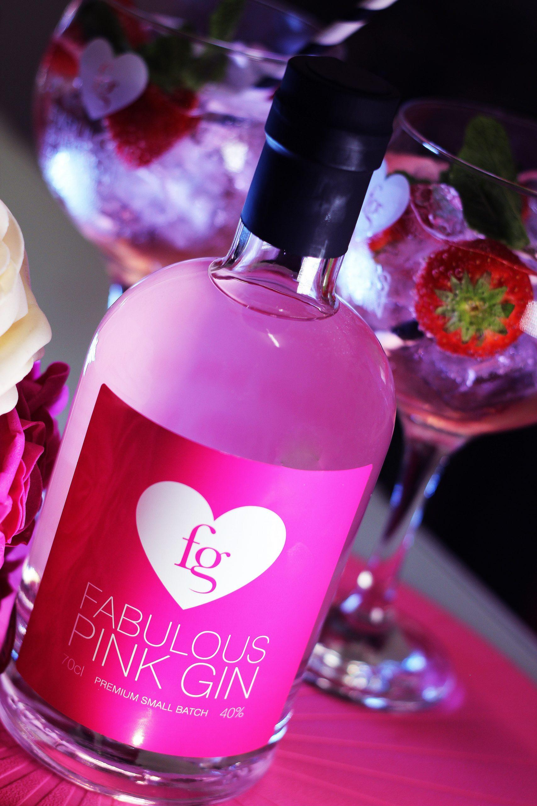 fabulous pink gin