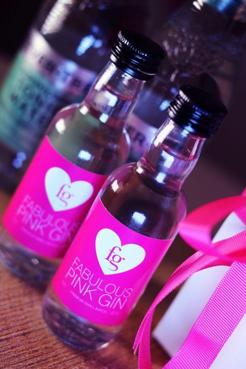 pink gin miniatures