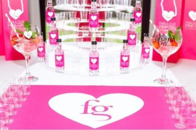 Fabulous Pink Gin pop up shop
