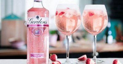 gordons pink gin - best pink gins