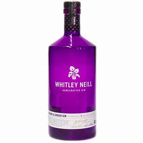 best pink gins - whitley neill rhubarb and ginger