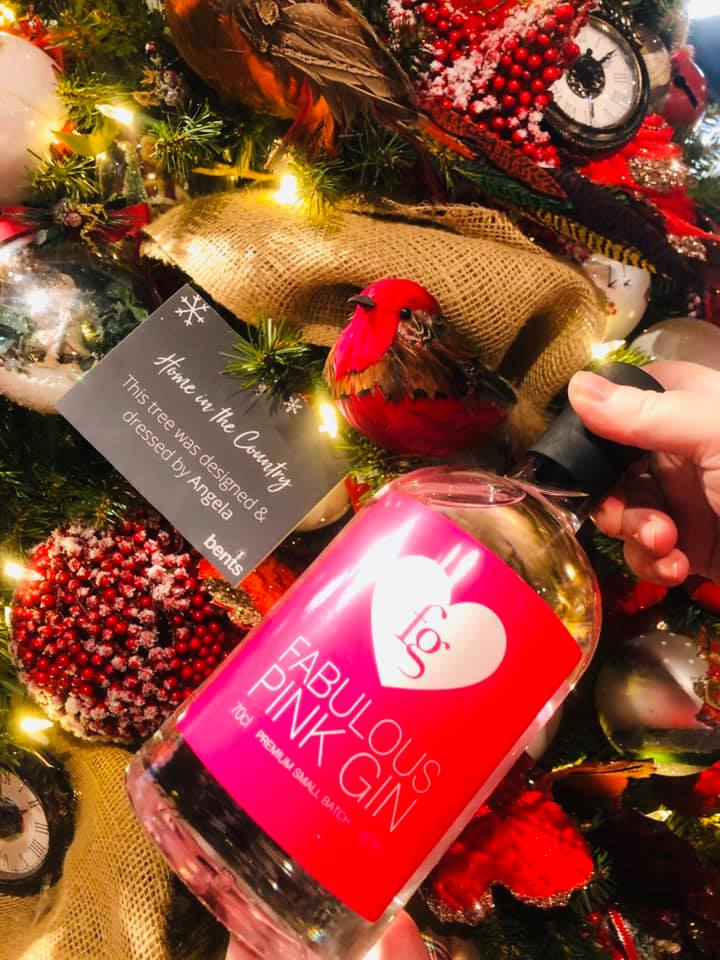 Fabulous Pink Gin - Christmas Opening at Bents Garden Centre