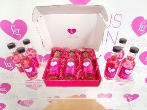 pink gin gift box - fabulous pink gin