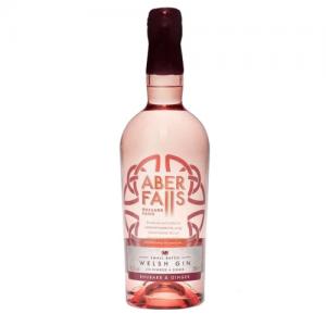 ABER FALLS Rhubarb & Ginger Gin- 70cl