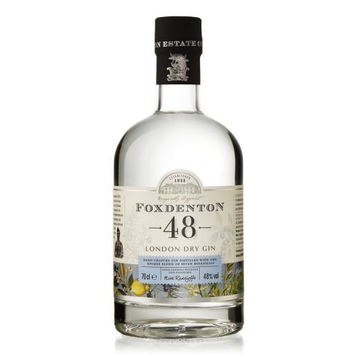 Foxdenton 48 London Dry Gin - 70cl