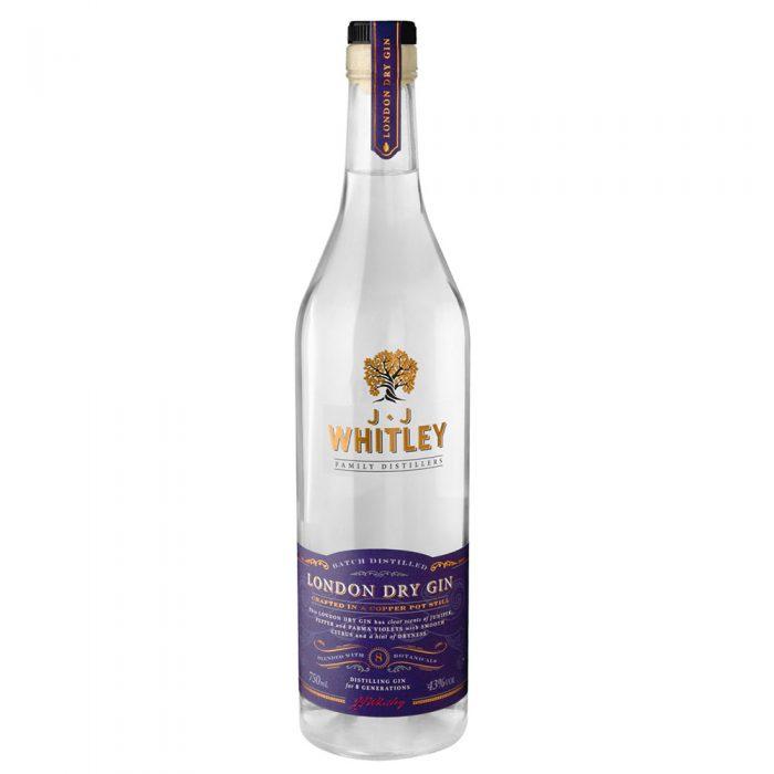 J.J. Whitley London Dry gin - 70cl