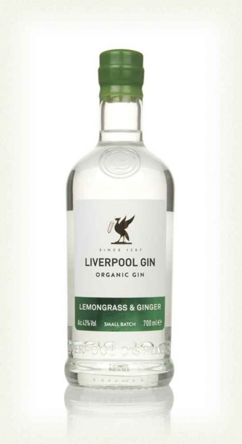 Liverpool Gin Lemongrass & Ginger - 70cl