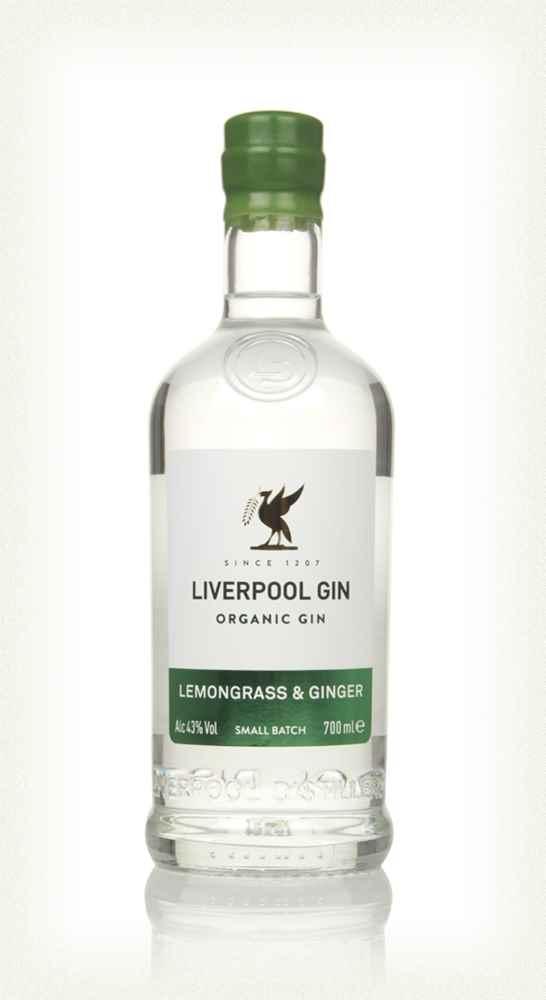 Liverpool Gin Lemongrass & Ginger - 70cl