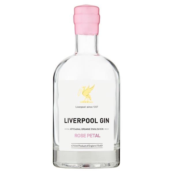 Liverpool Rose Petal Gin - 70 cl
