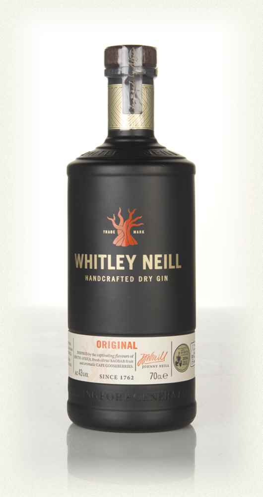 Whitley Neill Handcrafted Dry Gin - 70cl
